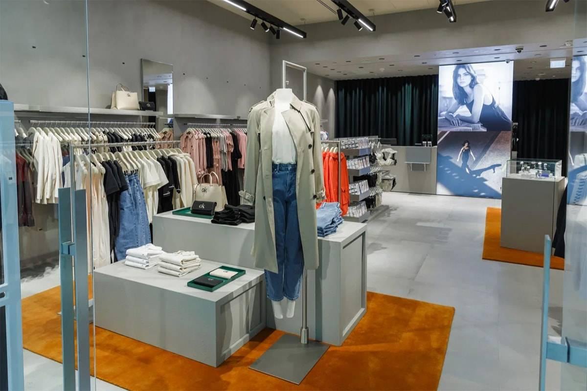 В Москве открылся первый монобренд Calvin Klein