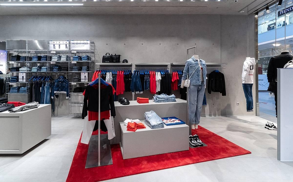 Calvin Klein Jeans открывает магазин в Санкт-Петербурге в новом концепте