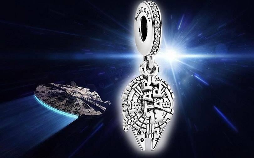Представлена коллекция Star Wars x Pandora