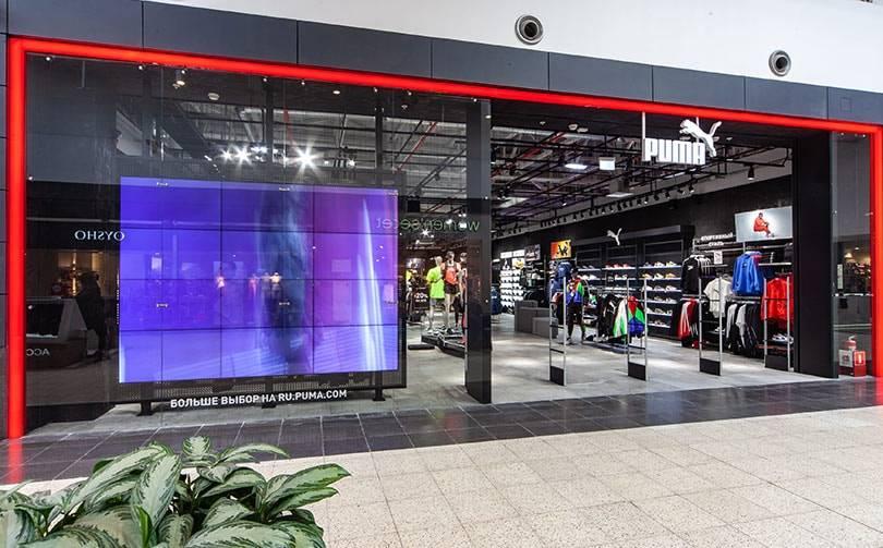 """В ТЦ """"Мега"""" открылись магазины Puma в новой концепции"""