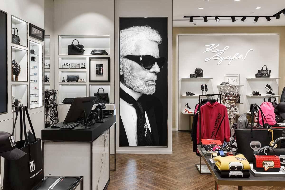 Karl Lagerfeld открыл новый магазин в Москве - фото
