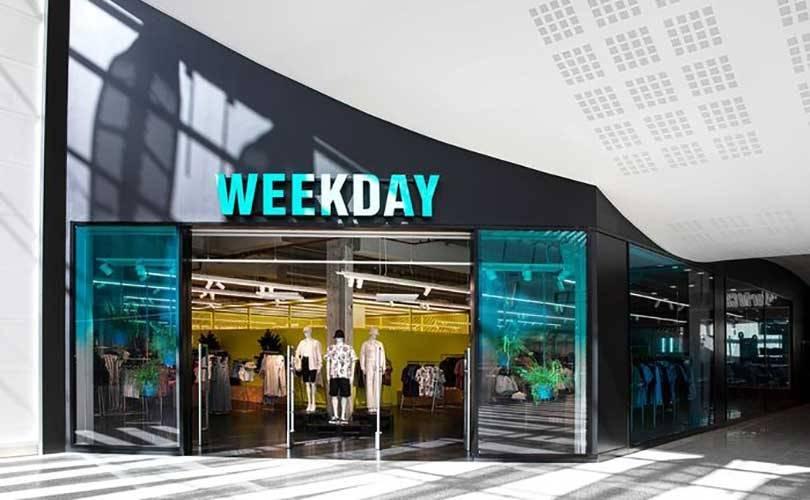 Weekday открывает первый магазин в России