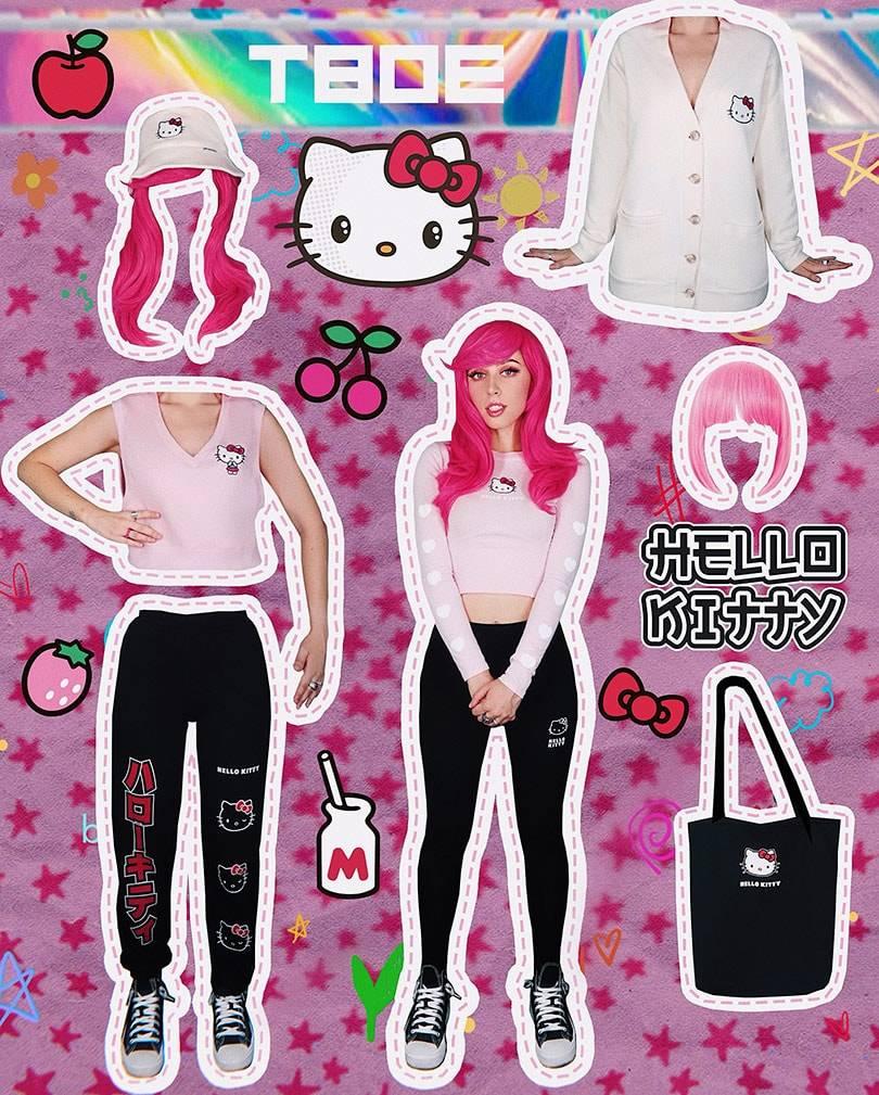 Твое представил коллаборацию с Hello Kitty
