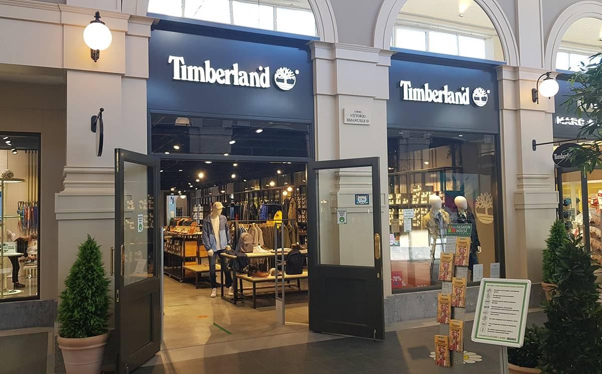 Фирменный бутик Timberland открылся в Fashion House Аутлет