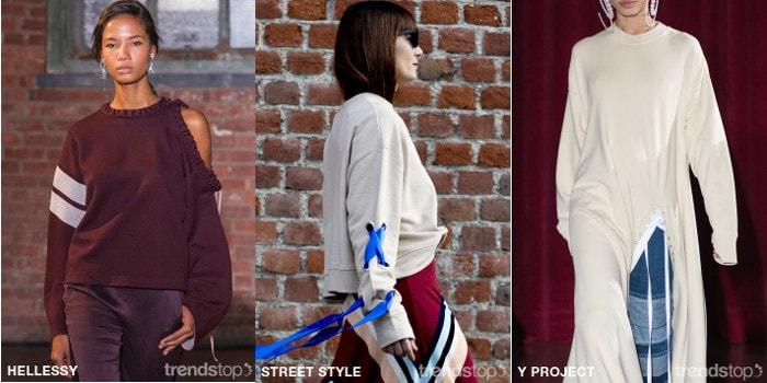 cfc6f0936375 Ключевые идеи в коллекциях женской одежды Осень-Зима 2018-19
