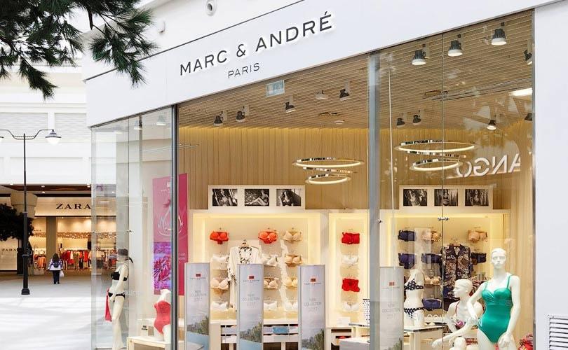 Французский бренд женского белья, купальников и домашней одежды Marc    André продолжает стремительную экспансию на российском рынке. 7be77c8b439