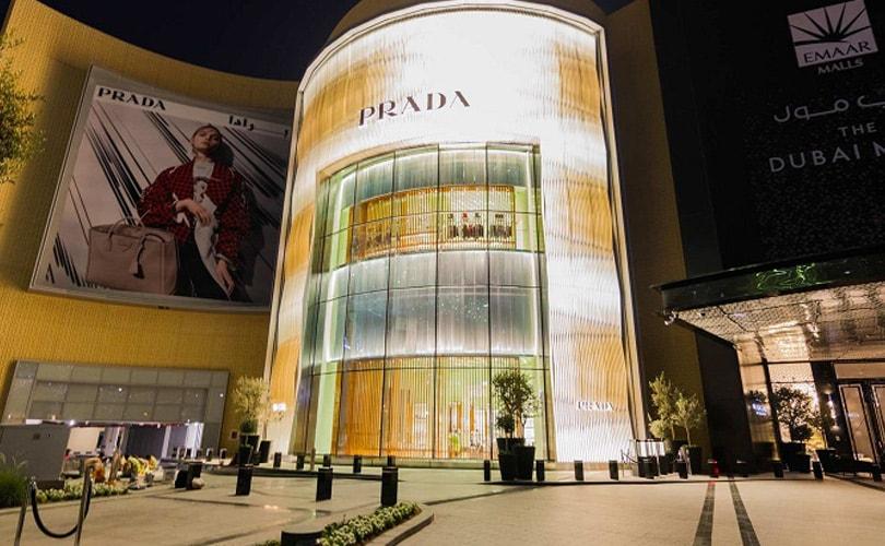 737aed7bea39 Prada открывает новый флагманский магазин в Дубае