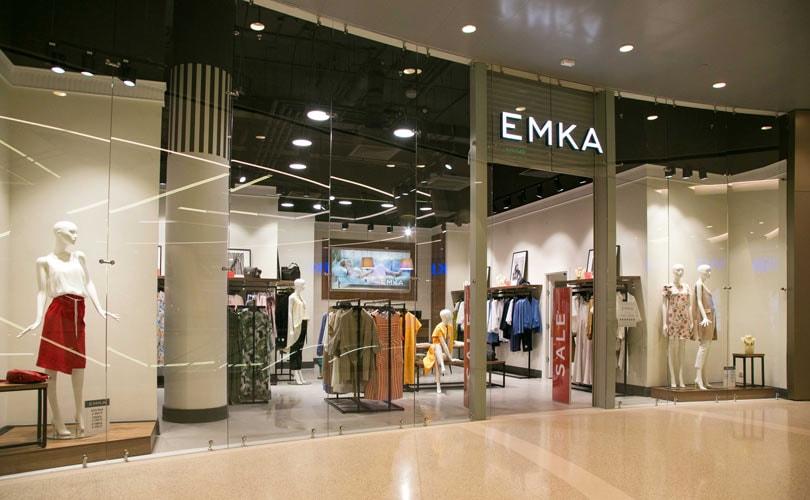 a80d04eccdb Российский бренд одежды Emka открыл магазин в ТРЦ