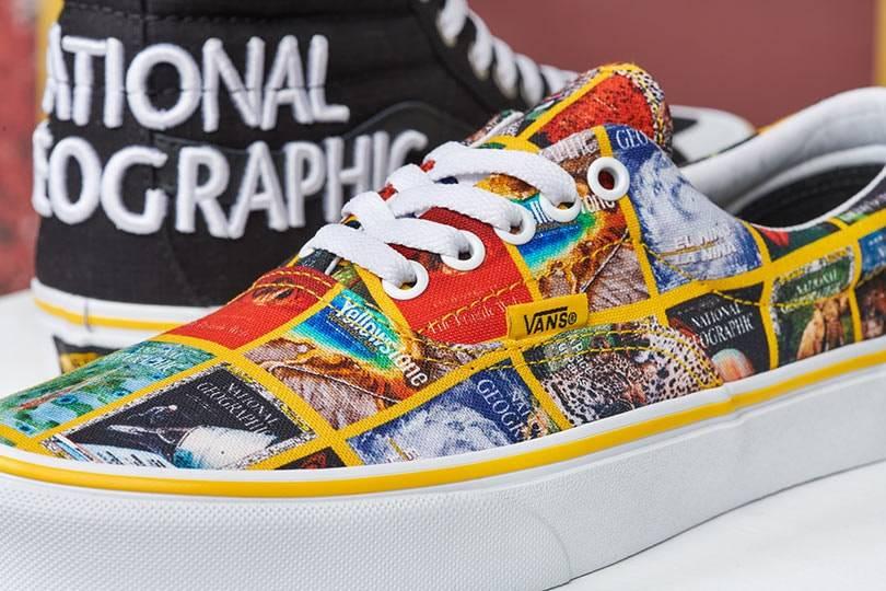 Vans создал коллаборацию с National Geographic
