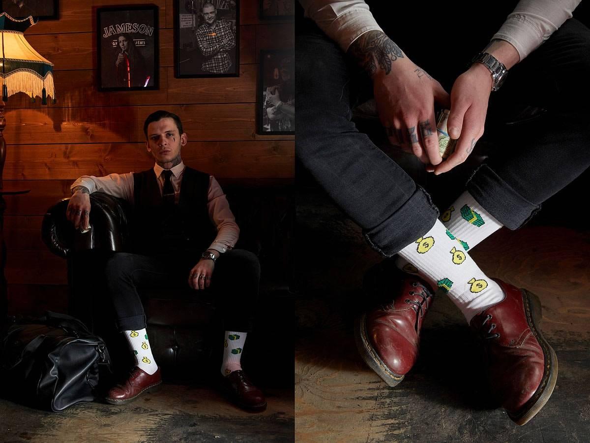 """St.Friday Socks запускает лимитированную коллекцию по мотивам нового фильма Гая Ричи """"Гнев человеческий"""""""