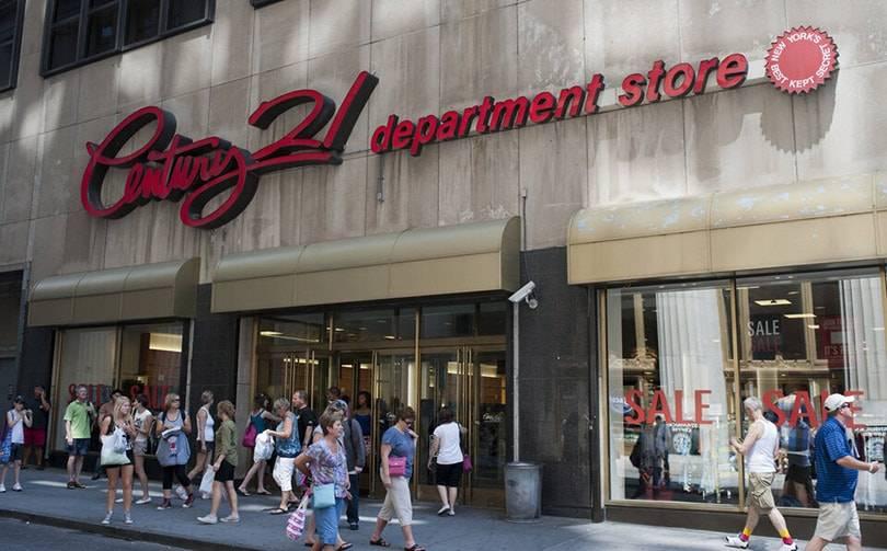 Аутлет Century 21 Stores объявил о банкротстве