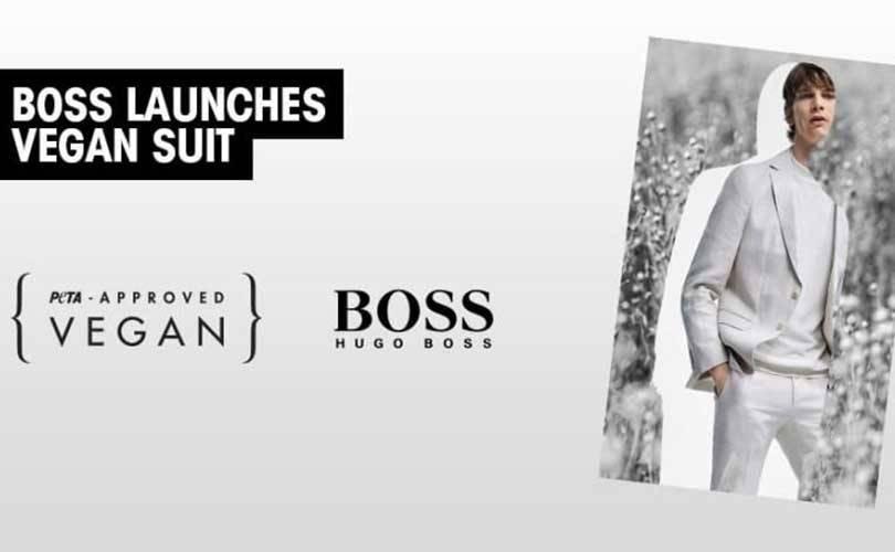 Hugo Boss выпустил на 100 процентов экологичный костюм